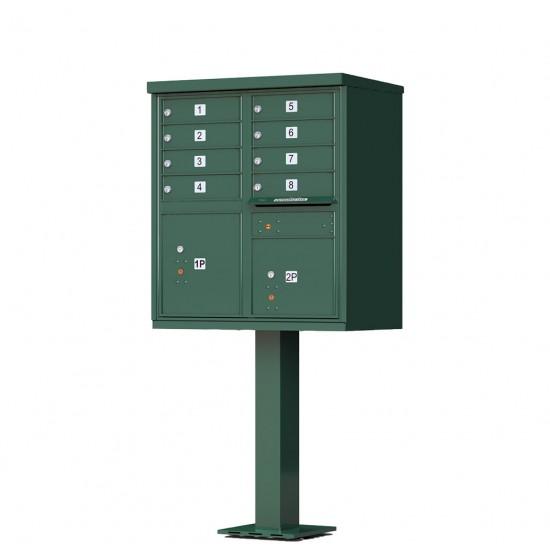 Florence Vital 1570 8 Cbu 8 Tenant Door Cluster Mailbox
